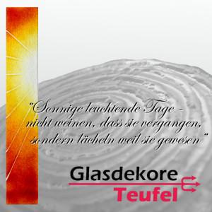 Glasornament Grabstein